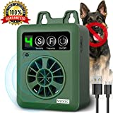 Dog Barking Control Devices, Anti Barking Device with 4 Adjustable Volume Level,...