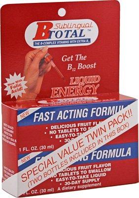 La Solución B-Total - Vitaminas sublinguales B - Twin Pak
