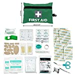 General Medi Mini First Aid Kit,92 Pieces Small First Aid Kit - Includes Emergency Foil Blanket, Scissors for Travel… 3