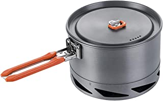 Fire-Maple Feast 1.5L Camping Cookwear Pot FMC-K2   Easy to Clean Hard Anodized Aluminum and Stainless Steel   Cookware Set and Mess Kit   Camping Essentials & Camping Gear