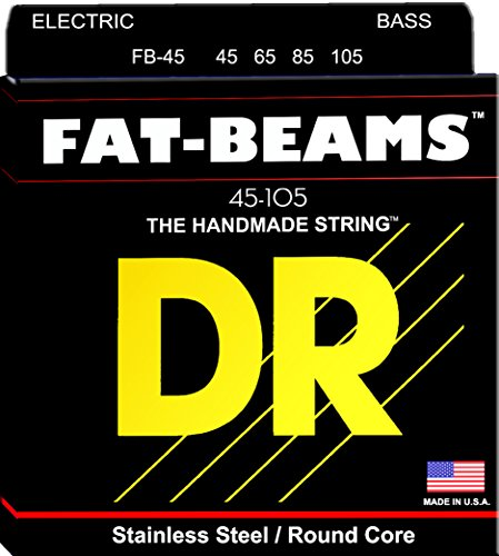 DR FAT-BEAMS FB-45 Medium corde per Basso 45-105 stainless steel