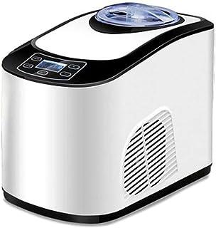 ZJZ Machine à glaçons, sorbetière Automatique avec congélateur intégré, Machine à crème glacée Molle