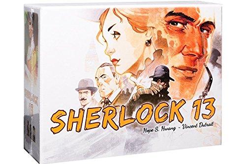 Asmodee- Sherlock 13-7600 Italia, Color 7600