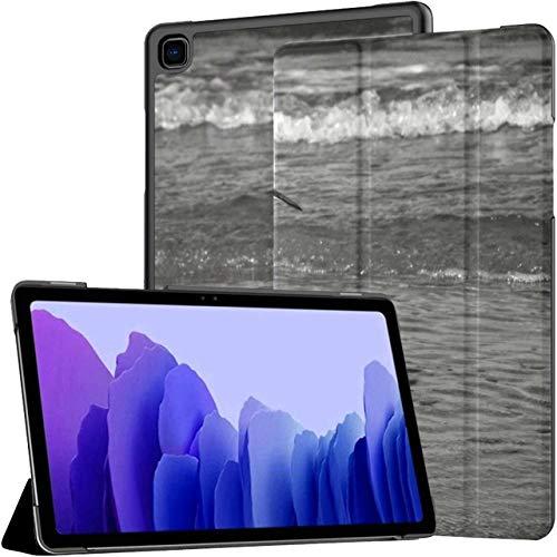 Funda para Samsung Galaxy Tab A7 Tableta de 10,4 Pulgadas 2020 (sm-t500 / t505 / t507), Funda con Soporte de ángulo múltiple Sea Bird Sunrise con activación/suspensión automática