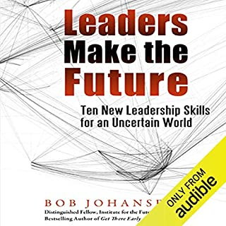 Leaders Make the Future audiobook cover art