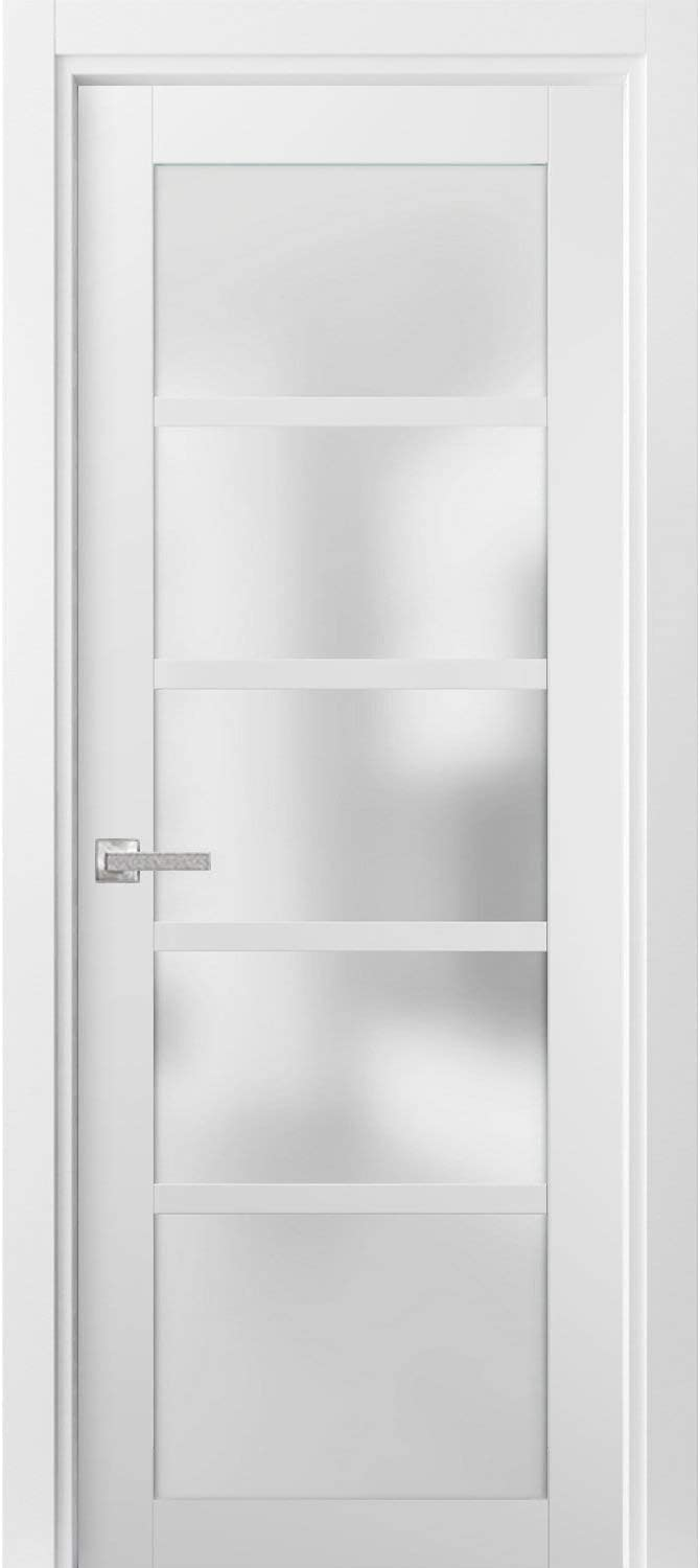 Pantry shop Kitchen Lite Door Now on sale 32 x Quadro with Whi 80 4002 Hardware