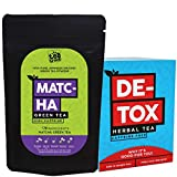 The Tea Trove 25 Day and Night Teatox -AM Matcha Green Tea Detox