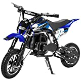 XtremepowerUS 49CC 2-Stroke Gas Power Mini Pocket Dirt Bike Dirt Off...