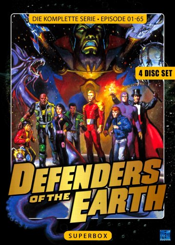 Defenders Of the Earth (Superbox) (4 Disc Set)
