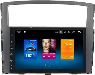 Dasaita Android 8.0 Car Stereo for Mitsubishi Pajero Gps Navigation Radio with 9 Inch Screen 4G Ram and HDMI Output Head Unit