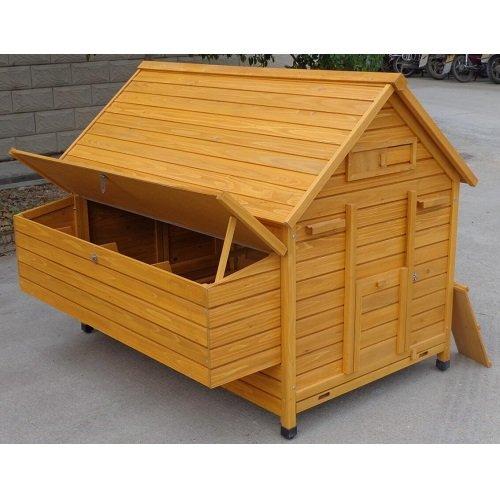 Cochinchina XXXL Hühnerstall aus Holz - 5