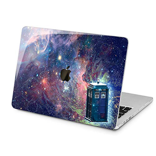 "Cavka Hard Shell Case for Apple MacBook Pro 13"" 2019 15"" 2018 Air 13"" 2020 Retina 2015 Mac 11"" Mac 12"" Laptop Police Call Box Doctor Who Galaxy TV Show Plastic Design Protective Print Cover Movie"