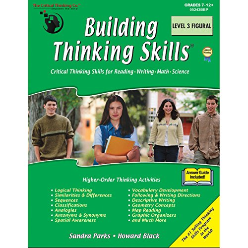 The Critical Thinking Building Thinking Skills Level 3 Figural School Workbook