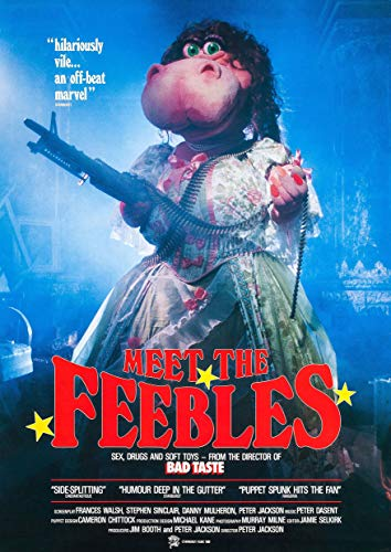 Poster affiche Meet The Feebles Von Peter Jackson Film Culte
