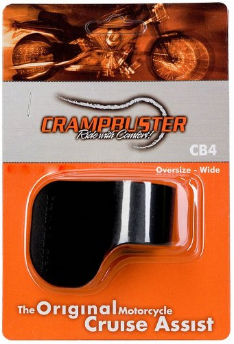 Crampbuster CB4 Black Throttle Mounted Motorcycle Cruise Assist