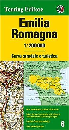 Emilia/Romagna 1:200K TCI (English and Italian Edition) by Touring Club Italy (2014-01-01)