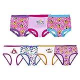 Disney girls Princess Potty Training Multipacks Underwear, Princess Panty (4) & Potty Training Pant (3) Combo, 3T US