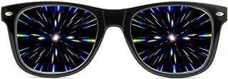 GloFX Ultimate Diffraction Glasses 3D Prism Effect Edm Rainbow