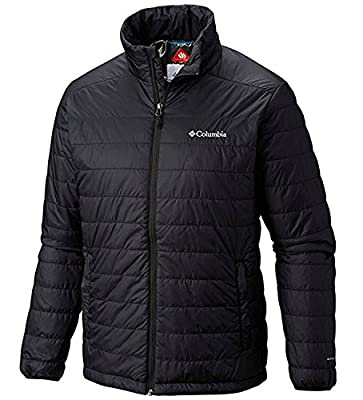 Columbia Mens Crested Butte II Omni-Heat Jacket, BLACK (L) from Columbia