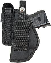 Barsony New Gun Belt Loop Holster w/Magazine Pouch for S&W 6926 908 909 910 Left