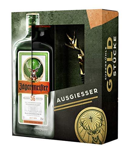 Jägermeister Geschenkset 1 x 0,7L Jägermeister + Hirschkopf Ausgiesser