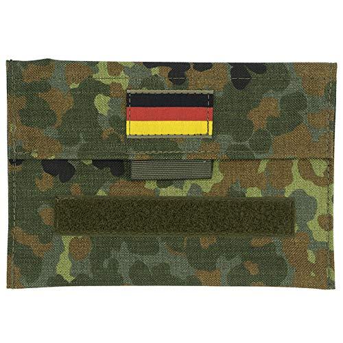Café Viereck Bundeswehr/Military Bag, Taktisches Pouch, Utility Pouch für Outdoor/Camping/Jagd, Militär Tasche/Zubehör (TactiBag Flecktarn Oliv 20 x 14 cm)