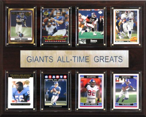 NFL New York Giants All-Time Greats Plaque