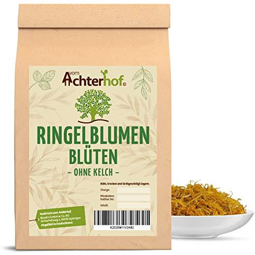 Bio Ringelblumenblüten | 250g | ohne Kelch | Ringelblumentee vom-Achterhof Tee Kräuter