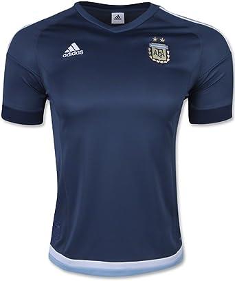 Adidas Men's Argentina Soccer Jersey National Team Climacool (2XL, Navy)