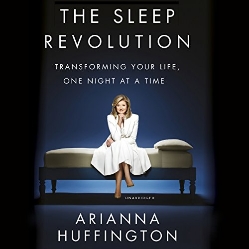The Sleep Revolution audiobook cover art
