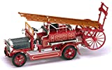 Lucky Die-cast - Modellino di Camion dei Pompieri del 1921, Tipo Dennis N, Colore: Rosso