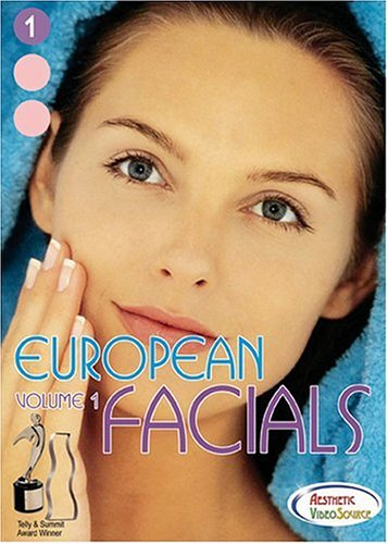 European Facials Volume 1 DVD - Great Video for Medical & Master Esthetician. Learn About Esthetician Supplies, Equipment (Table / Bed Setup, Steamer, Magnifying Lamp), Skin Analysis. Learn Skin Care Cleansing Treatments & Facial Massage. (1 Hr. 34 Mins.)