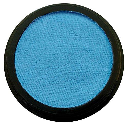 Eulenspiegel 183779 - Profi-Aqua Schminke in der Farbe Hellblau, 20 ml