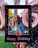 JeVenis Marco de fotos de 18 cumpleaños para fiestas de cumpleaños y 18