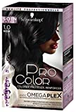 Schwarzkopf - Pro Color - Coloration Permanente Cheveux - Anti-Casse - Noir 1.0