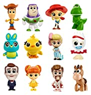 Disney Pixar Toy Story 4 mini figures in surprise packaging Stylized figures have dynamic poses Compact size for play at home and on the go The full variety includes 36 characters variations (eachsold separately, subject to availability) For age...