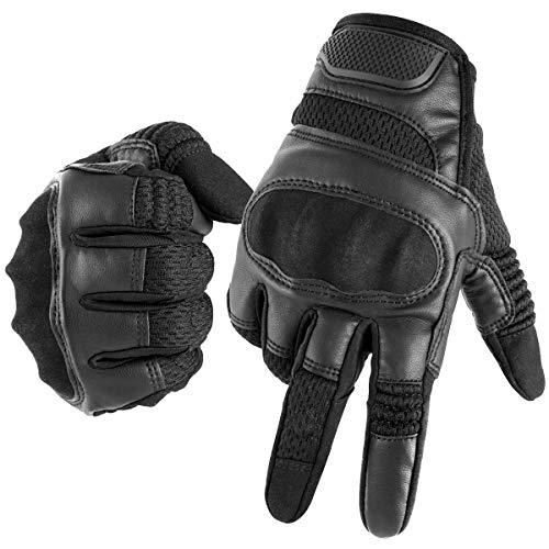 Evermotor Guantes de Motocicleta para BMX ATV MTB Riding, Road Racing, Ciclismo, Camping, Escalada