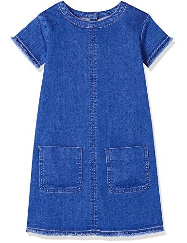RED WAGON Denim Shift DressVestito Bambina, Blu (Multi), 110 (Taglia Produttore: 5 Anni)