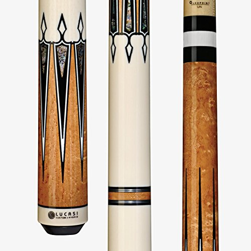 Lucasi Custom LZC46 Pool Cue Stick + Zero Flex Low Deflection Shaft