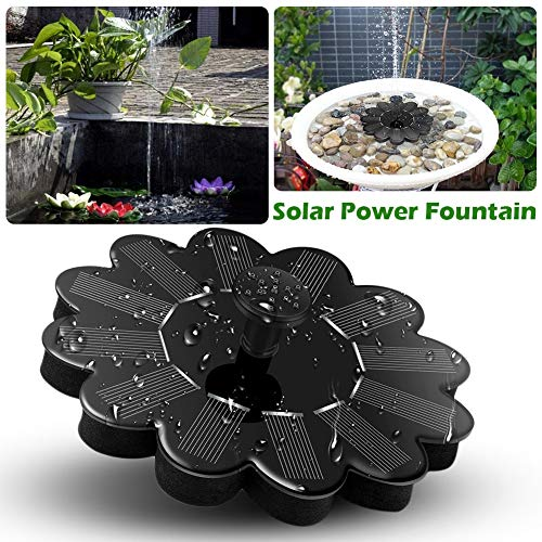 Solar Waterpomp Floating Panel Pool Solar Power Fontein Tuin landschap Vijver Watering Kit op zonne-energie Water Pum kit