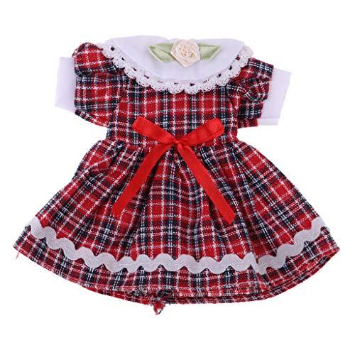perfeclan Fashion Puppenkleid Prinzessin Partykleid 2 Lagen Spitzenkleid Outfit Für 60cm Night Lolita Puppe - A