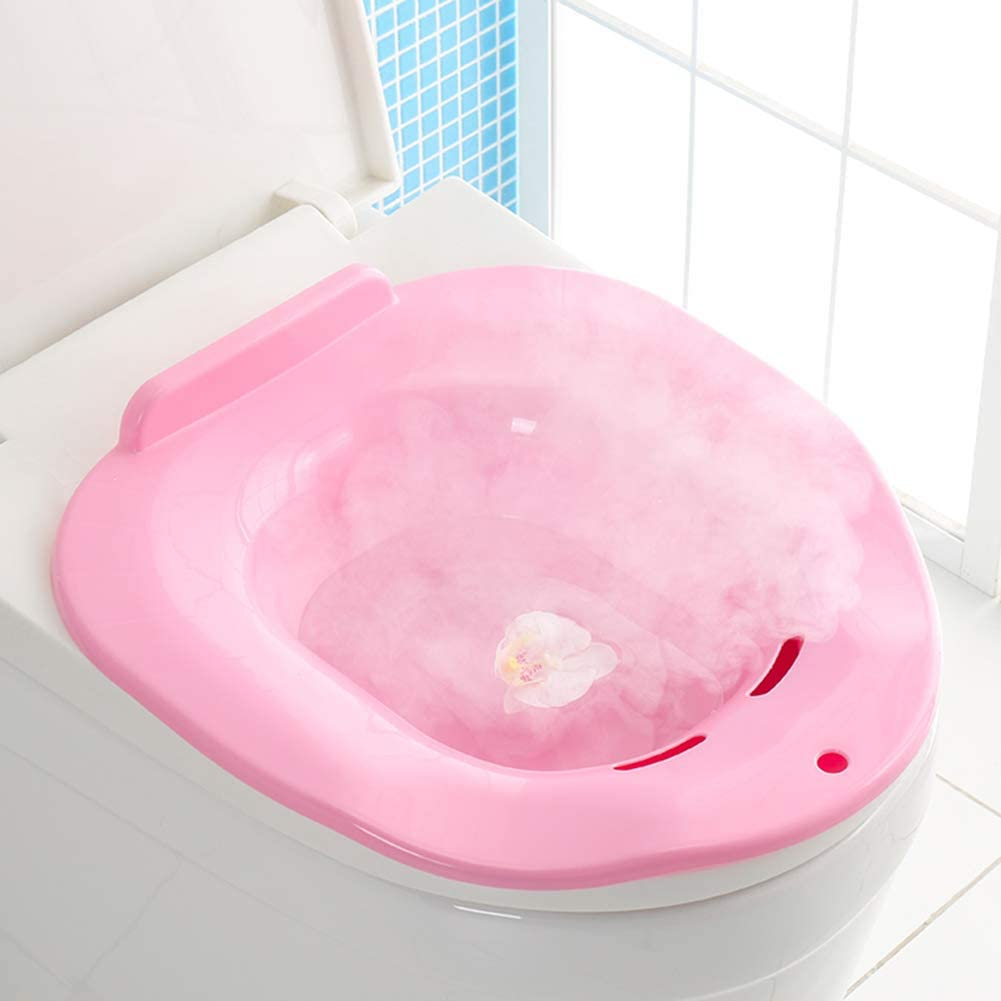 outlet PJDDP Sitz Bath Max 80% OFF Over-The-Toilet for Soaking Perineal Hemor