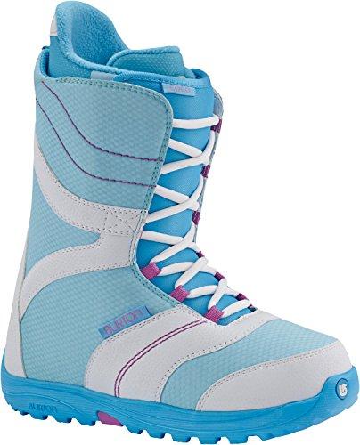 Burton Coco Snowboardschuhe für Damen., Weiß / Blau, 10.0