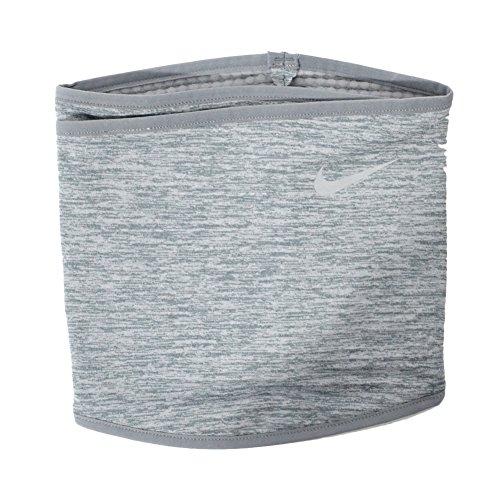 Nike Erwachsene Run Therma Sphere Neck Warmer033 SIL Nackenwärmer, cool Grey Heather/Silver, L/XL
