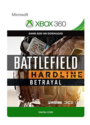 Battlefield: Hardline Betrayal [Spielerweiterung] [Xbox 360 - Download Code]