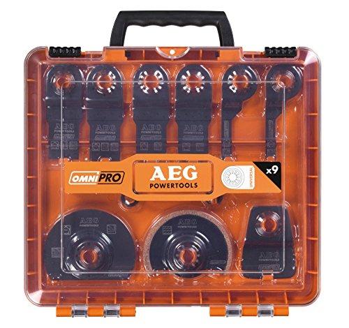 AEG Multitool-Zubehörset 9-tlg.