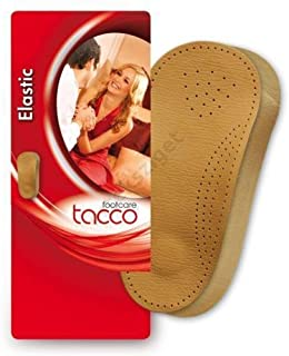 Tacco 3/4 Length Leather Orthotic Arch Support Womens 10 (Mens and Womens, all sizes)