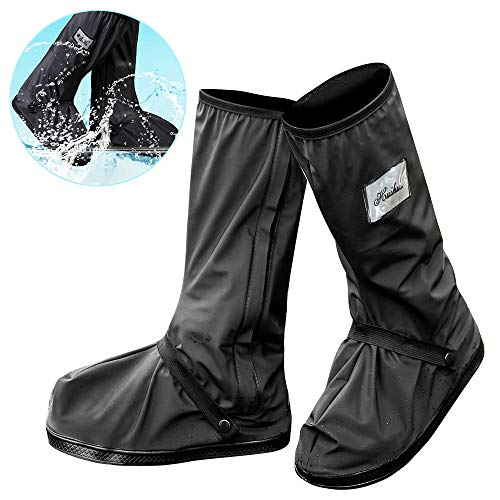 Protector de Zapatos Impermeable Cubiertas de Zapatos a Prueba de Agua Lluvia Nieve Cubrebotas con…