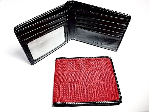 JDM BRIDE Seat Gradation Logo Wallet Custom Stitched Leather Racing Super Cool Red