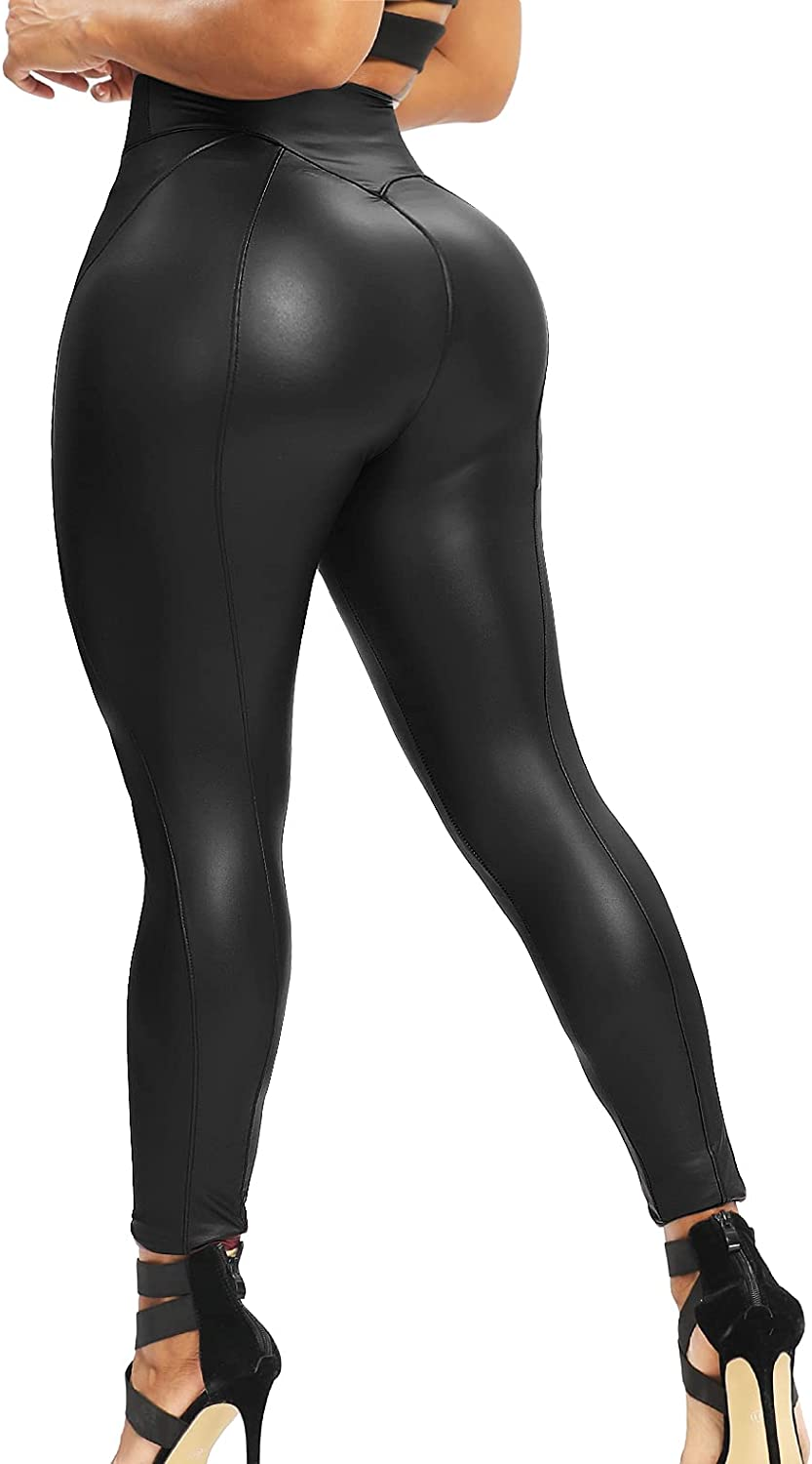 STARBILD Faux Leather Pants for Albuquerque online shop Mall Women Up Push Butt Shaping Sexy